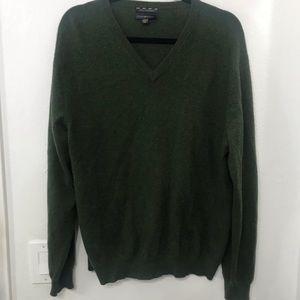 Club Room Estate Cashmere V-Neck Sweater